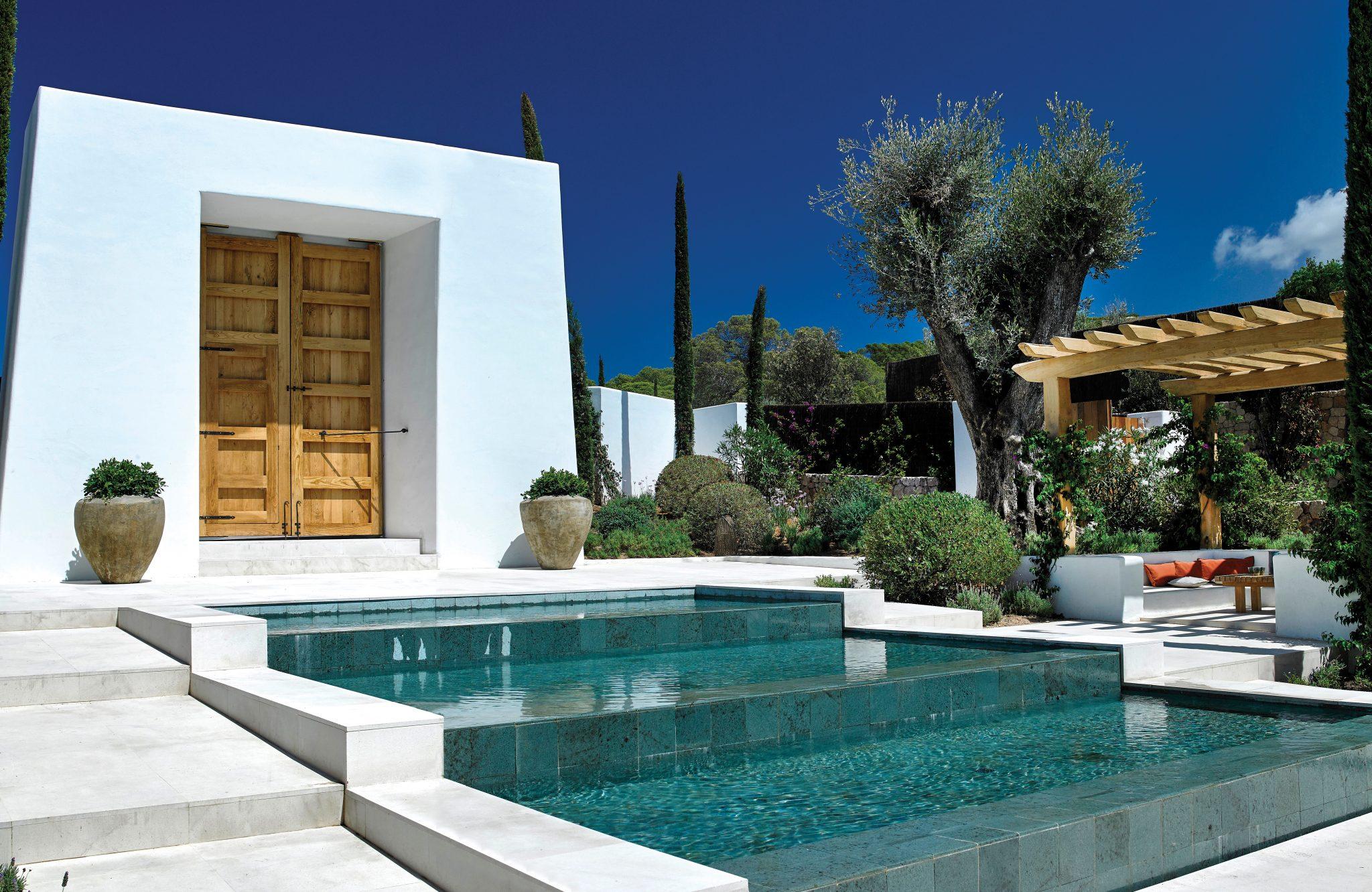 Sabina Ibiza spiritual home_The Clubhouse at Sabina Estates, a private villa community in southwest Ibiza.