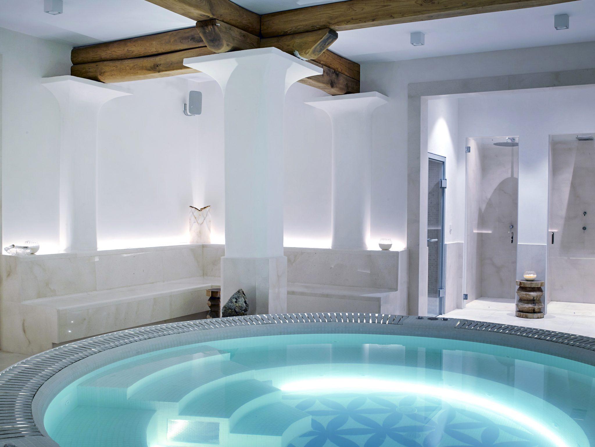 Sabina Ibiza spiritual home_The estate's clubhouse spa.