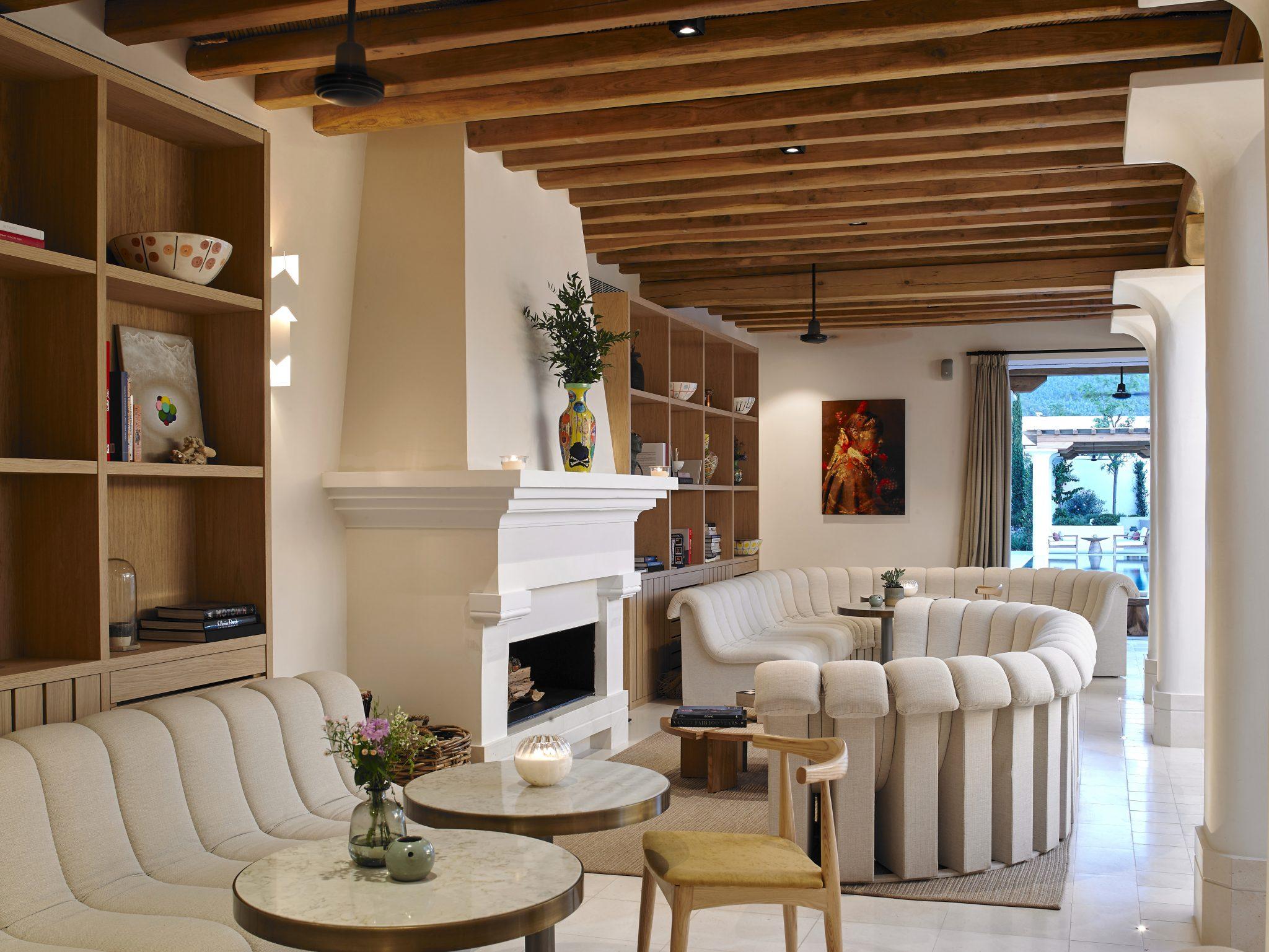 Sabina Ibiza spiritual home_Sabina Estate Clubhouse place for reflection