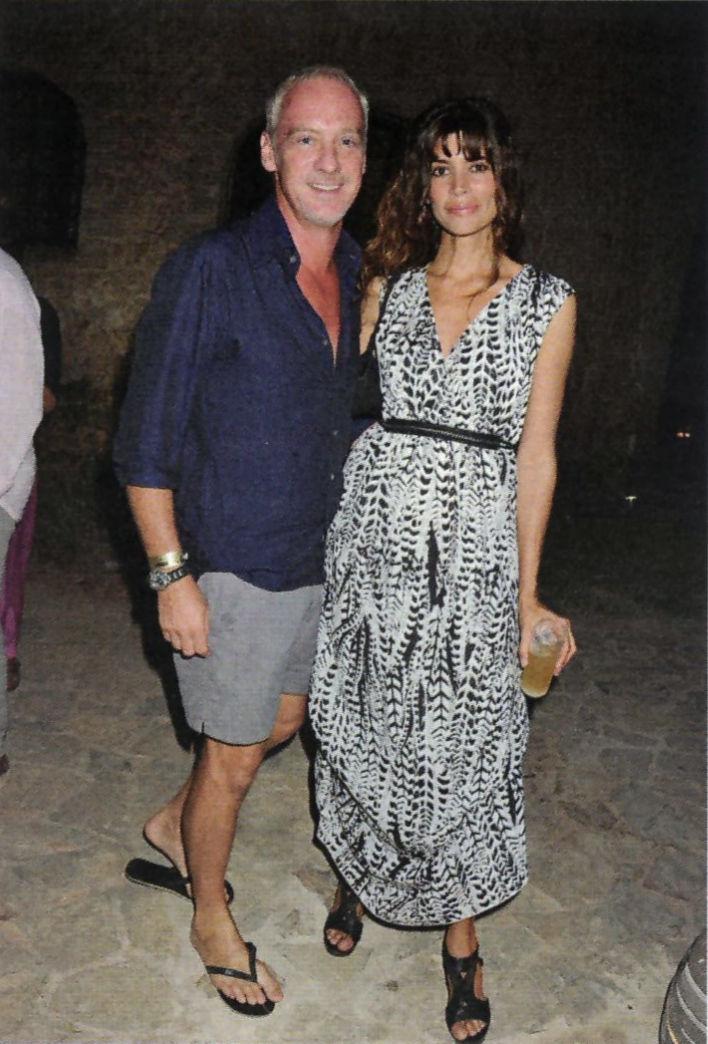 Sabina Ibiza spiritual home_ Anton Bilton and his wife, Lisa.Above: the Sabina Estates communal clubhouse pool